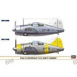 F2A-1/2 Buffalo 'U.S. Navy COMBO) (dwa modele) (U.S. Navy Carrier-Borne Fighter)