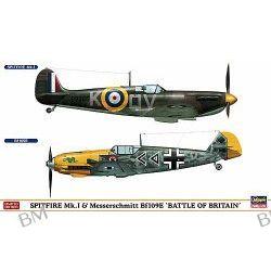 SPITFIRE Mk.I and MESSERSCHMITT Bf109E BATTLE OF BRITAIN (dwa modele)