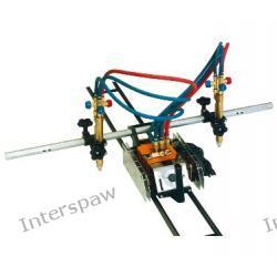 Przecinarka półautomatyczna PERUN do cięcia tlenem z napędem elektrycznym PPA-100/1000A