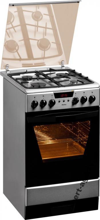 Kuchnia Amica 53ge3 43zprtadnxl Eco Inox 50cm Na Bazarek Pl