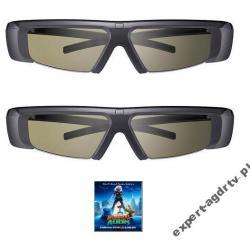OKULARY 3D SAMSUNG SSG-2100T 2 PARY + FILM 3D HIT