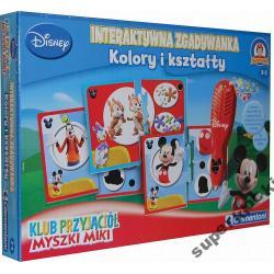 Mickey Interaktywna Zgadywanka Kolory i Kształty