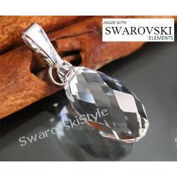 Wisiorek SWAROVSKI brioleta crystal 324