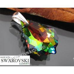 Wisiorek SWAROVSKI vitral medium baroqu 117