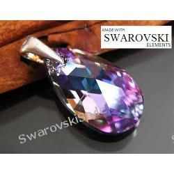 Wisiorek SWAROVSKI migdał vitral light 341