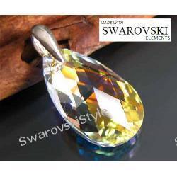Wisiorek SWAROVSKI migdał crystal AB 342