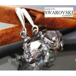 Kolczyki SWAROVSKI duże kule oksyda 481
