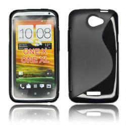 HQ S-LINE ETUI HTC ONE X CZARNY