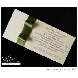 Zaproszenie ślubne wzór 20D