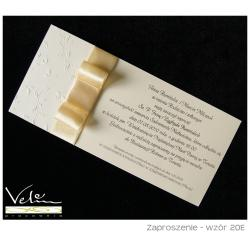 Zaproszenie ślubne wzór 20E