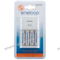ładowarka Sanyo Eneloop MQR06-E-4-3UTG + 4 x R6/AA Eneloop 2000 mAh UTGA