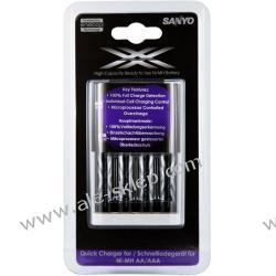 ładowarka Sanyo Eneloop MQR06-E-4-3UWX + 4 x R6/AA Eneloop XX 2500 mAh UWX