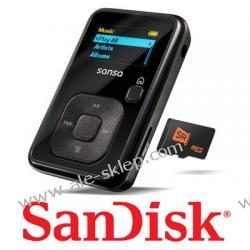 Odtwarzacz MP3 SanDisk Sansa CLIP+ 2GB czarna