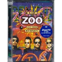 U2 ZOO Tv Live From Sydney /DVD/SZYBKO I PEWNIE!!!