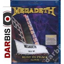 MEGADETH Rust In Peace Live /Bluray/ ~~NAJPEWNIEJ~