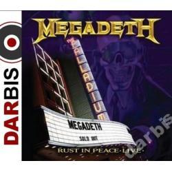 MEGADETH Rust In Peace Live /CD+DVD/ ~~NAJPEWNIEJ~