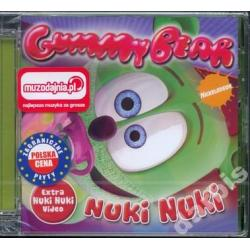 GUMMY BEAR Nuki Nuki /CD/ Extra Video ~WYPRZEDAZ