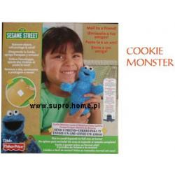 Fisher Price COOKIE MONSTER 15 CM Send-A-Friend K4647
