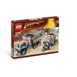 INDIANA JONES WYŚCIG PO SKARB LEGO 7622