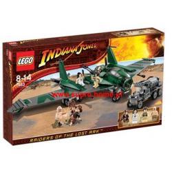 LEGO INDIANA JONES 7683 LOT SAMOLOTEM, NOWOSC