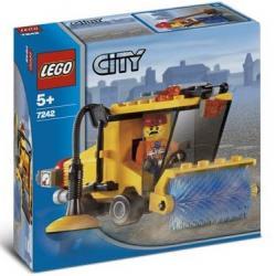KLOCKI LEGO CITY 7242 ULICZNA ZAMIATARKA