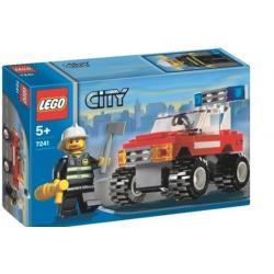 LEGO 7241 AUTO DOWÓDCY STRAŻY POŻARNEJ