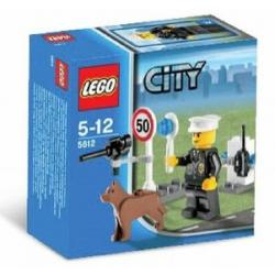 Klocki LEGO CITY 5612 POLICJANT Z PSEM