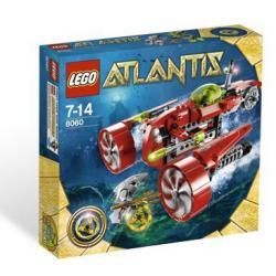 LEGO ATLANTIS 8060 ŁÓDŹ PODWODNA TAJFUN