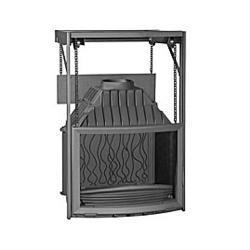 Wkład kominkowy PANORAMA 800, drzwi podnoszone- przeciwwaga Invicta