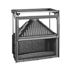 Wkład kominkowy GRANDE VISION 1100 drzwi podnoszone Invicta