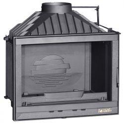 Wkład kominkowy LAUDEL 700 COMPACT z szybrem, doprowadzenie powietrza ref. 6274-51-DP