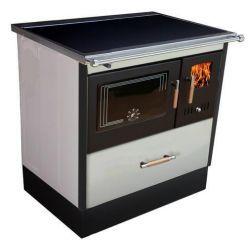 Piec kuchenny na drewno KOPER Special 70 biały