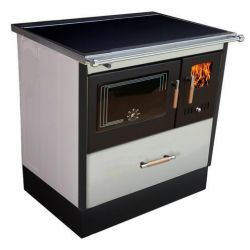 Piec kuchenny na drewno KOPER Special 90 biały