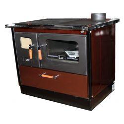 Piec kuchenny na drewno KOPER Special 90 brązowy