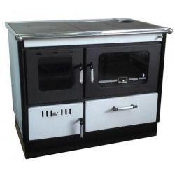 Piec na drewno kuchenny do centralnego ogrzewania KOPER Special 90 GE biały
