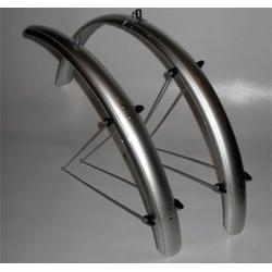 """Błotniki rowerowe Orion 26""""x53mm nylon/alu."""