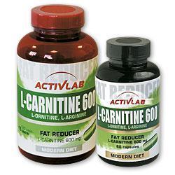 ACTIVLAB L-karnityna 600 60 kap.