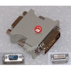 Adapter VGA (D-SUB) - DVI - przejściówka