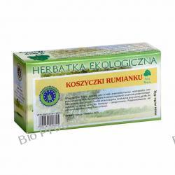 RUMIANEK -KOSZYCZKI RUMIANKU herbatka ekologiczna Dary Natury 20sasz x 2g