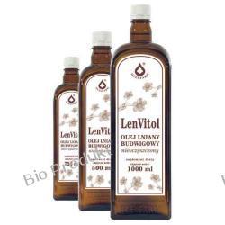 Olej lniany nieoczyszczony Budwigowy - Len Vitol 0,5L