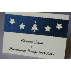 Kartki świąteczne dla firm, biznesowe z logo - FV