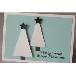 Piękne kartki świąteczne dla firm z logo - FV