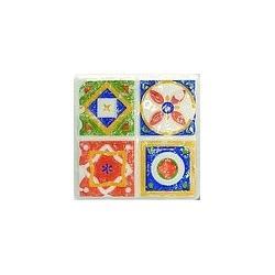 TUBĄDZIN MAJOLIKA Dekor gresowy D-Majolika Quartet 3 115x115 mm