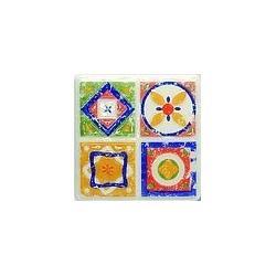 TUBĄDZIN MAJOLIKA Dekor gresowy D-Majolika Quartet 4 115x115 mm