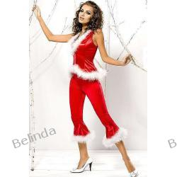 Obsessive Santa Lady pants + vest