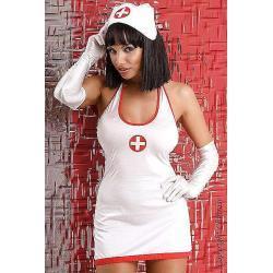 Kostium Private Nurse - biały