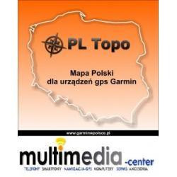 MAPA POLSKI - PL TOPO 2012.2 KARTA 8 GB Wawa Fv