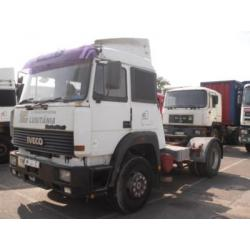 Iveco TurboStar Turbotech Magirus 300KM most dyfer