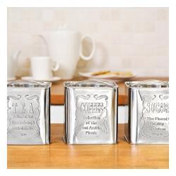 Puszki na kawę, herbatę i cukier