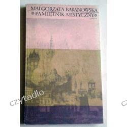 Pamiętnik mistyczny - Małgorzata Baranowska